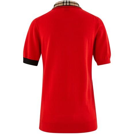 BURBERRYPenk polo shirt