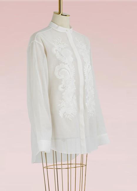 Stella McCartneyRoxy embroidered shirt