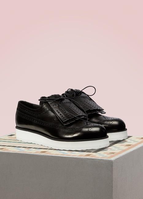 Pierre HardyAoyama leather derbies