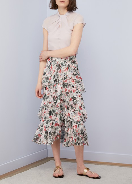 Erdem Fianna short sleeved top
