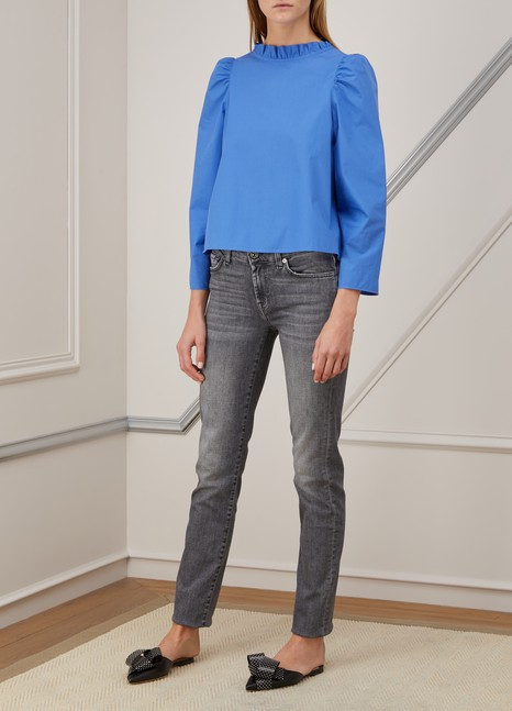 7 For All MankindRoxanne mid-rise jeans