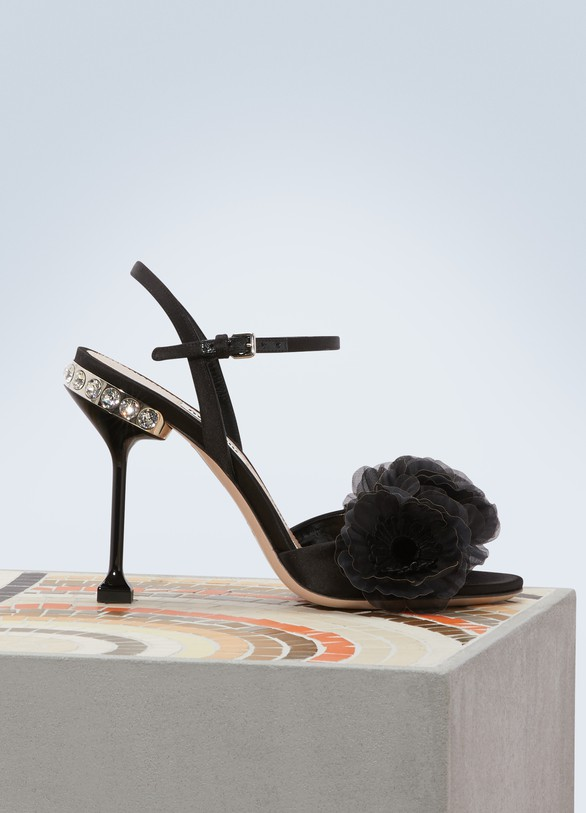 Miu MiuFlower sandals