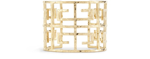 GIVENCHY4G logo cuff bracelet