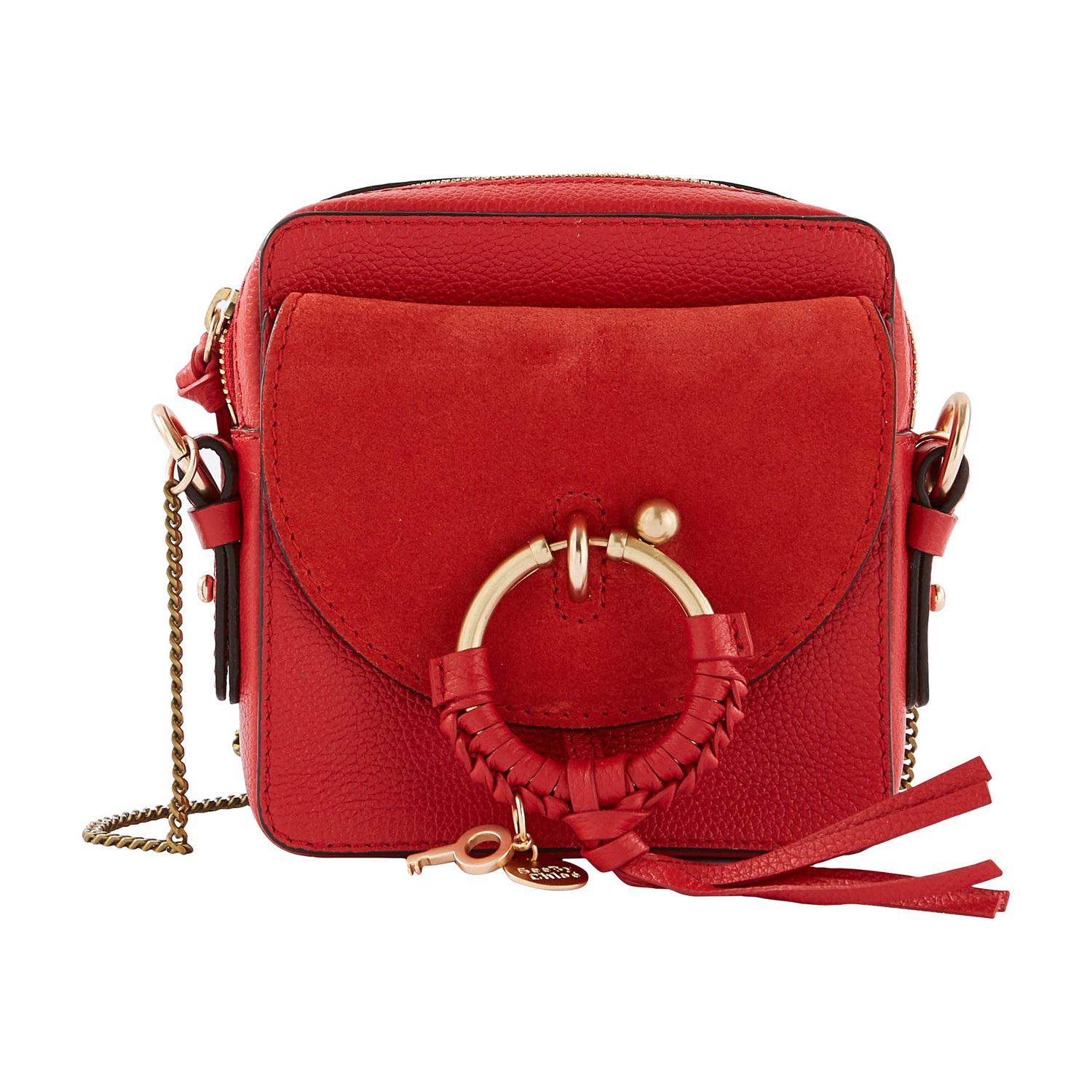 「See By Chloé Women's Joan Camera Bag - Radiant Red」的圖片搜尋結果
