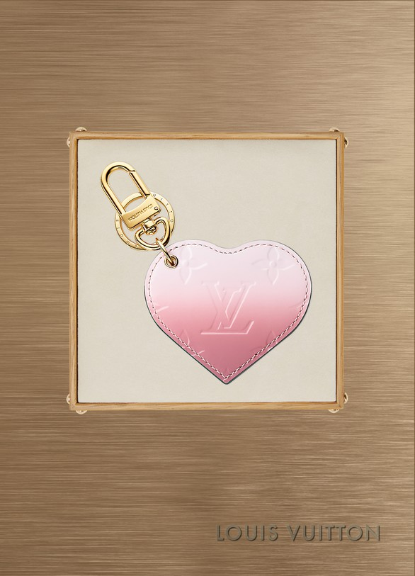 Louis Vuitton Bijou de sac Monogram Vernis Dégradé Heart