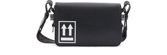 OFF-WHITEFlap mini shoulder bag