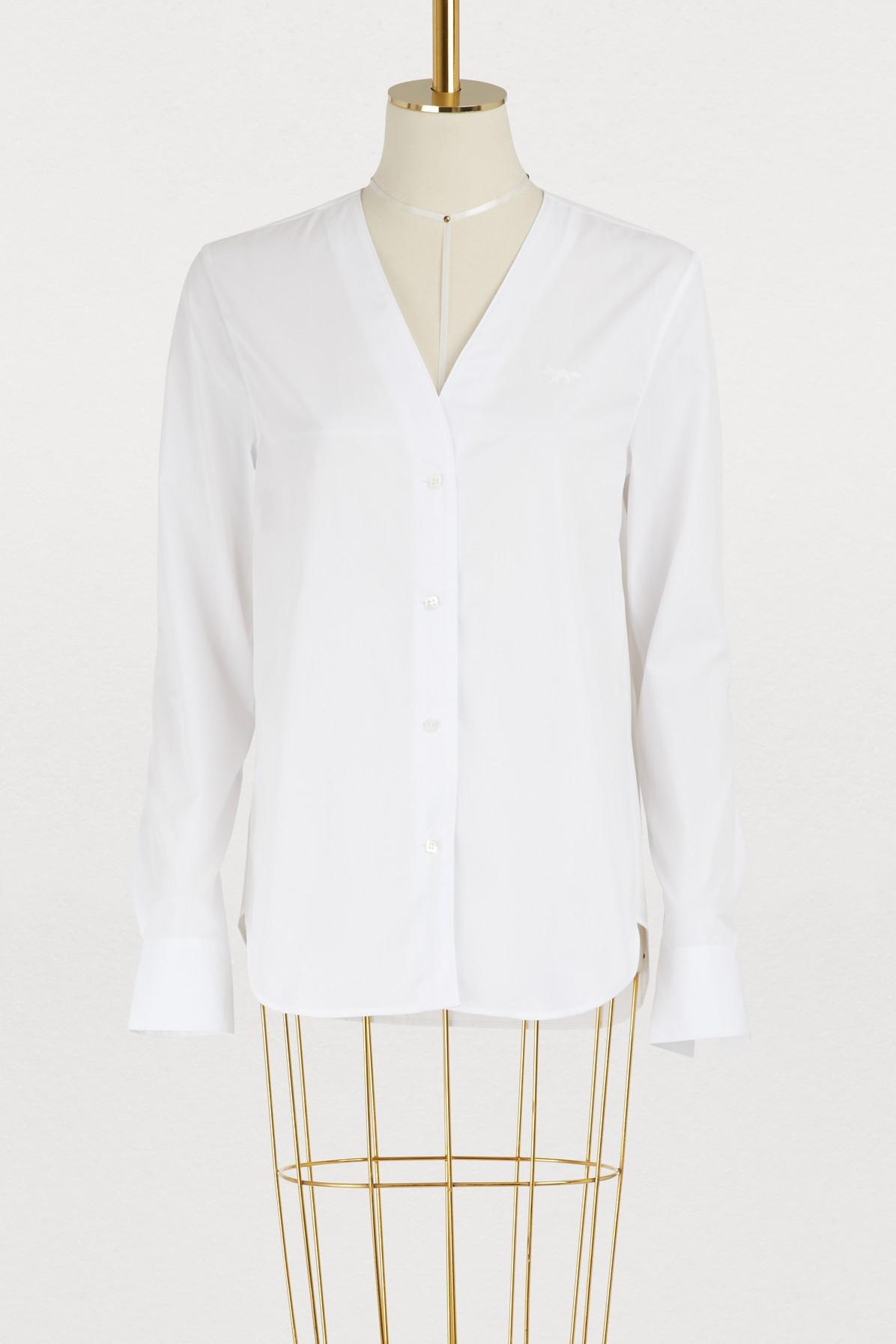 MAISON KITSUNE | Diana cotton shirt | Goxip