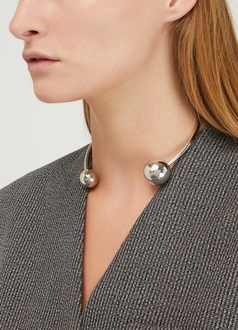 Jil Sander Sphere necklace