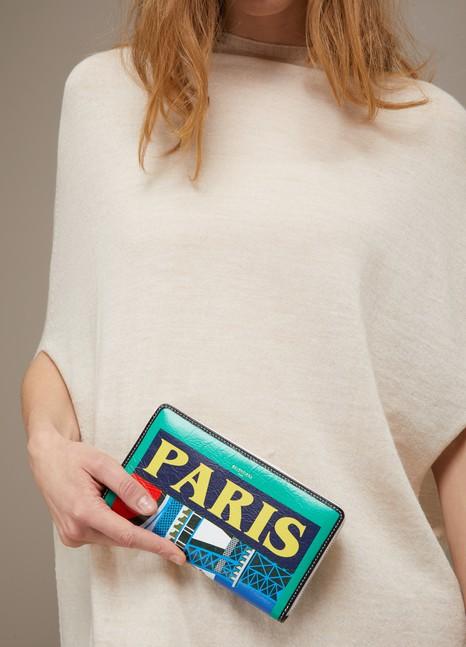 BalenciagaParis zip around pouch