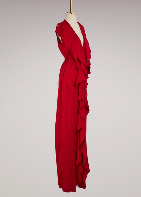 Stella McCartney Rasalia Long Cady Dress