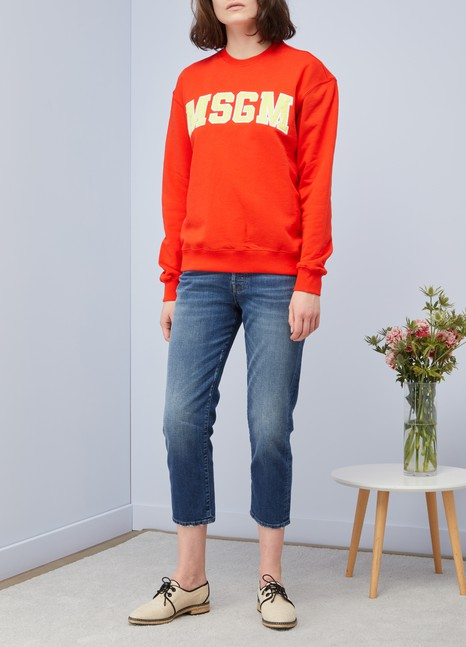 MSGM Sweat logo MSGM