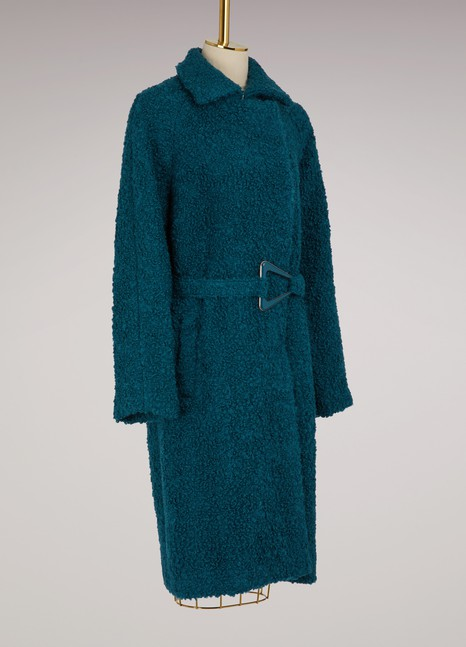 CarvenManteau en laine vierge