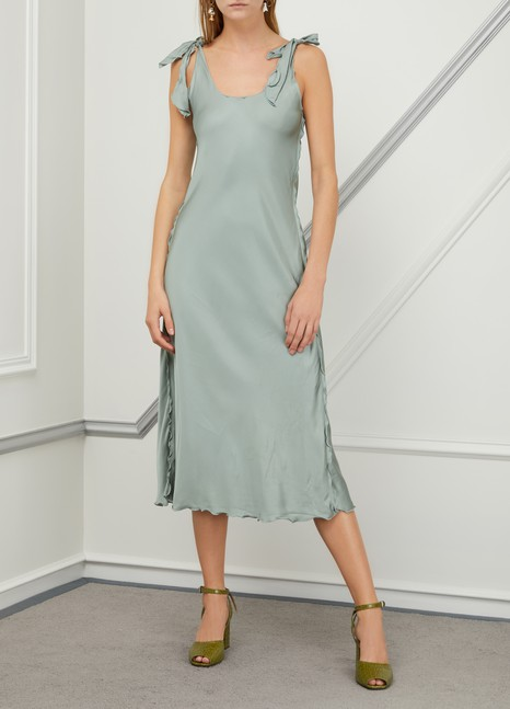 Acne Studios Satin dress