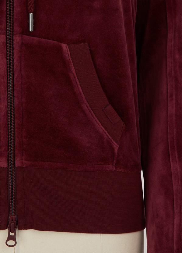 bcf7097af315 Fenty Puma by Rihanna Velvet fitted zip up track jacket ...