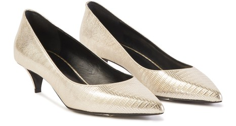 CELINE Sharp ballerina pumps