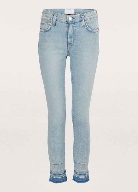 c8c2cd1354f Current Elliott The Stiletto high-waisted jeans