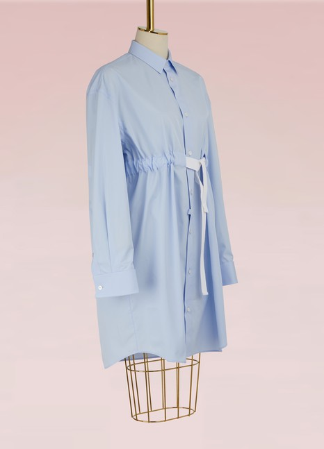 Maison MargielaCotton Shirt Dress
