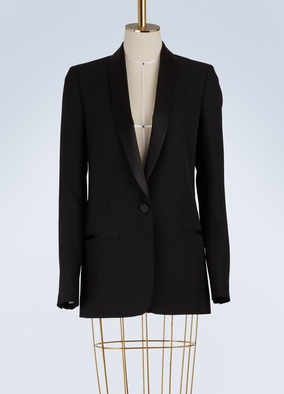 Maison MargielaWool blazer jacket