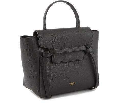CELINENano Belt bag in grained calfskin