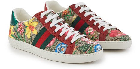 GUCCINew Ace trainers
