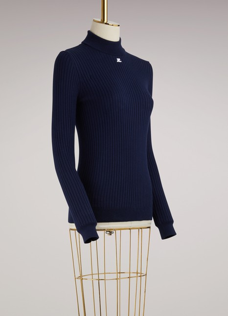 Courrèges High Neck Sweater
