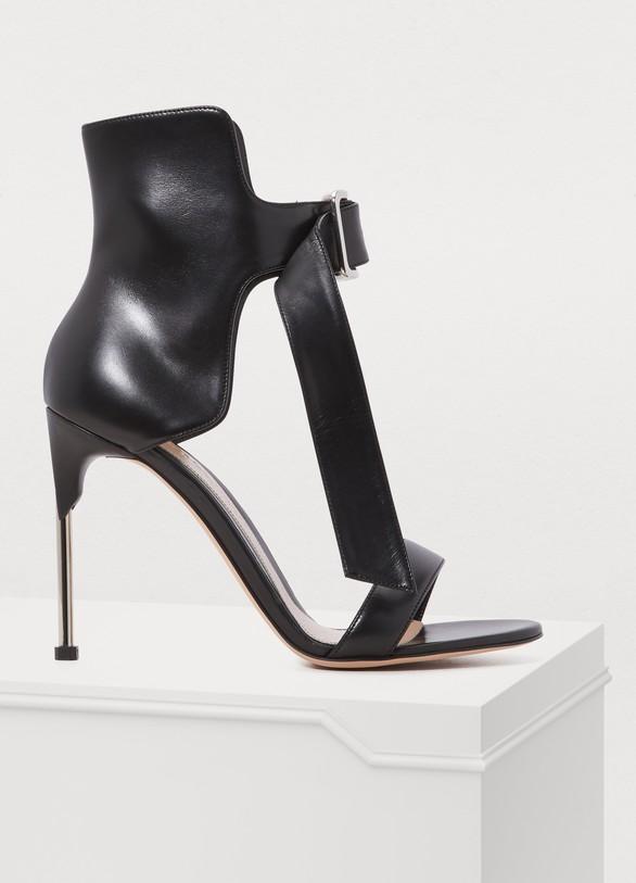 Alexander McQueenBuckle sandals