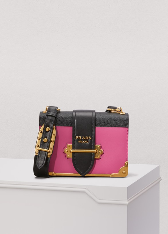 Prada Cahier cross-body bag