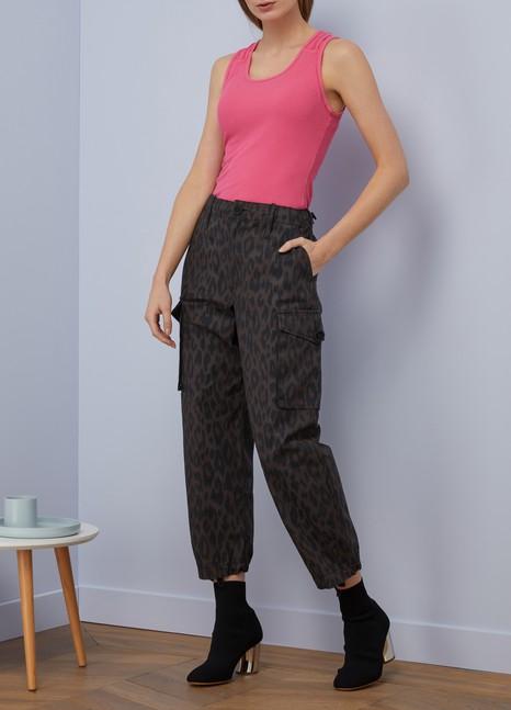 Proenza SchoulerLeopard print pants
