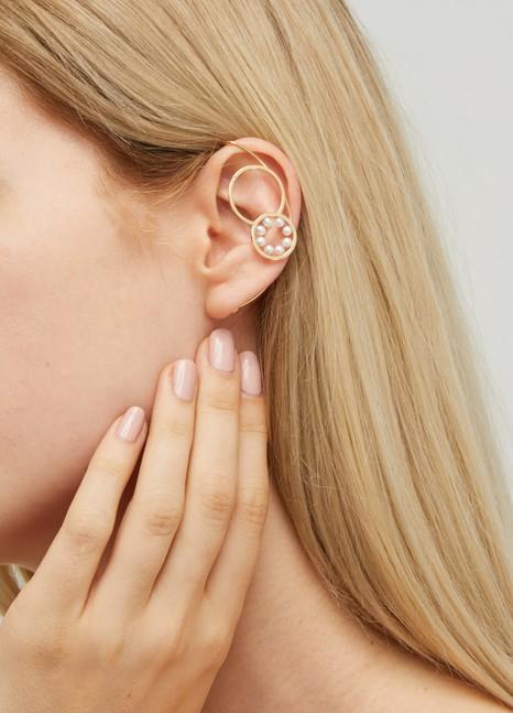 DELFINA DELETTREZDouble Bubble single earring
