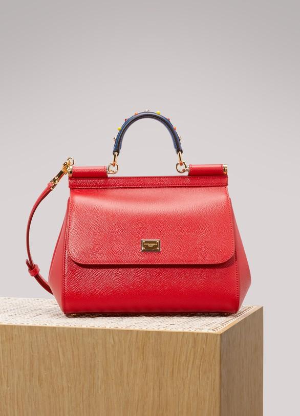 Dolce & Gabbana Sac porté épaule à carreaux Sicily oDDGKu9