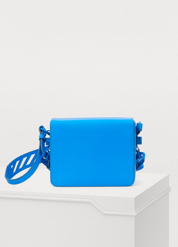 OFF WHITE Binder Clip crossbody bag
