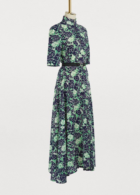 PradaShort sleeved long dress