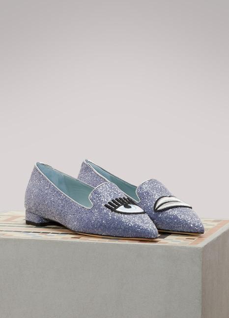 Chiara FerragniLogomania slippers
