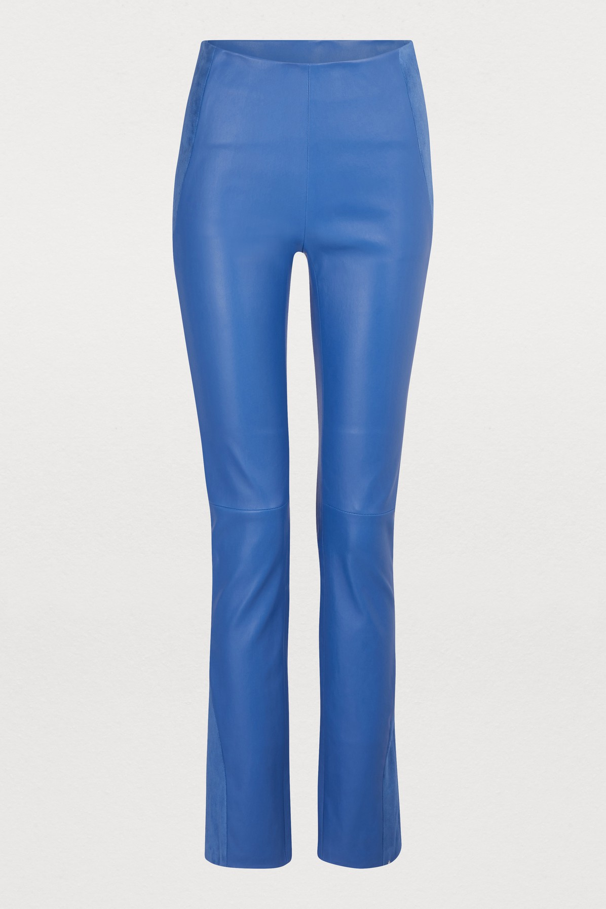 Pantalon en cuir stretch