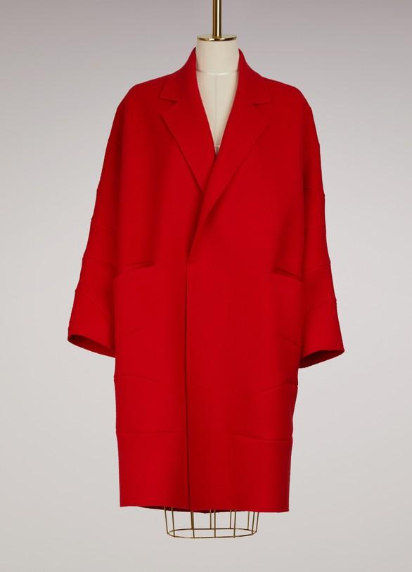 Maison Rabih KayrouzLong wool coat