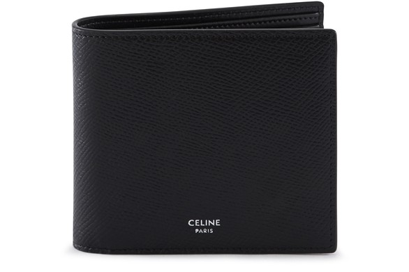 CELINE Two-section leather wallet