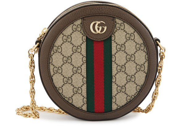 GUCCI Ophidia round cross body bag