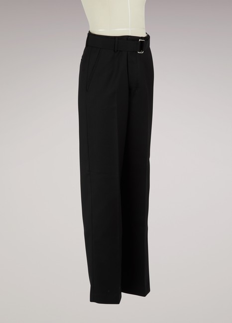Ami Large pants with belt