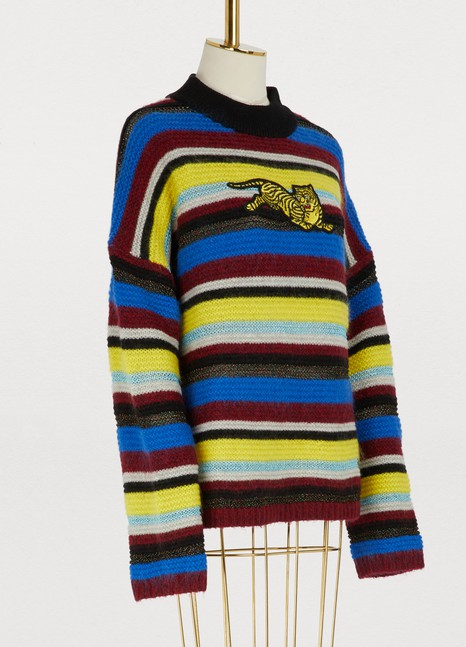 KenzoWool and mohair sweater