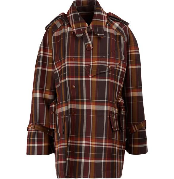 ACNE STUDIOSPlaid wool coat