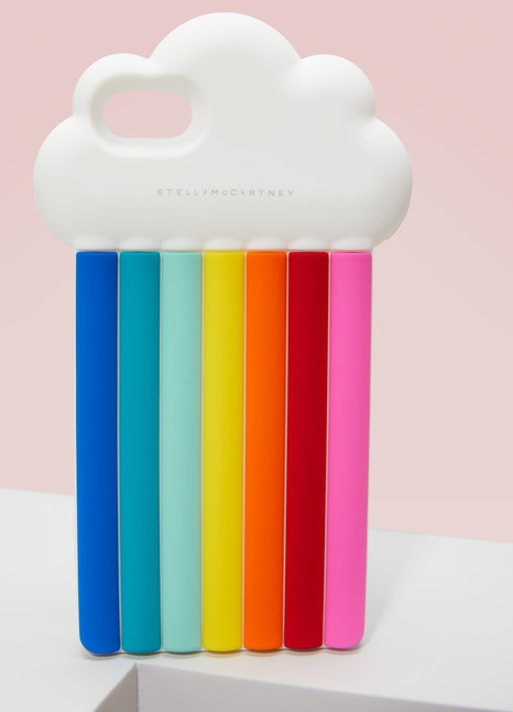 STELLA McCARTNEY Coque pour iPhone 7 Rainbow