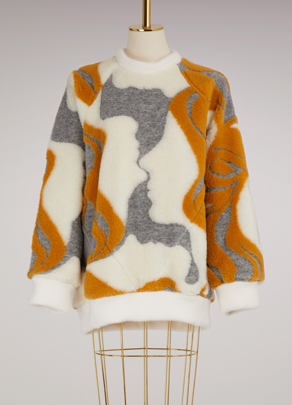 Chloé Wool oversize sweater
