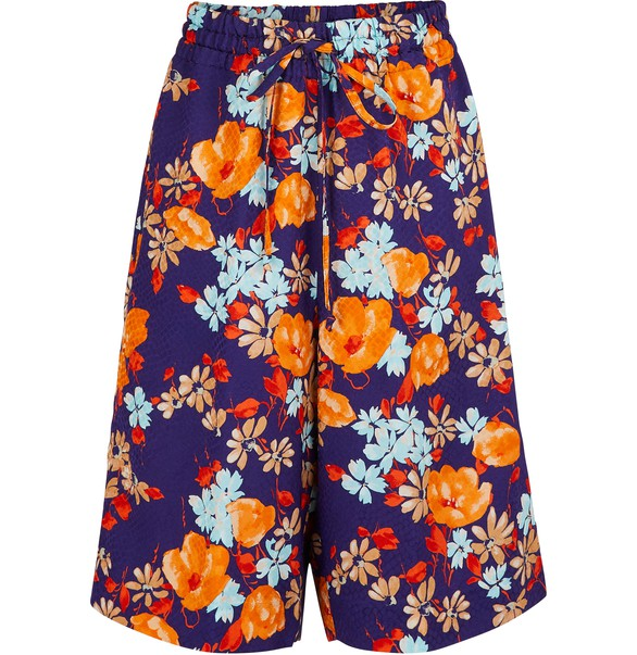 DRIES VAN NOTEN Bedruckte Shorts