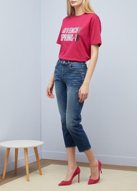 GIVENCHYT-shirt Givenchy Spring-18 oversize