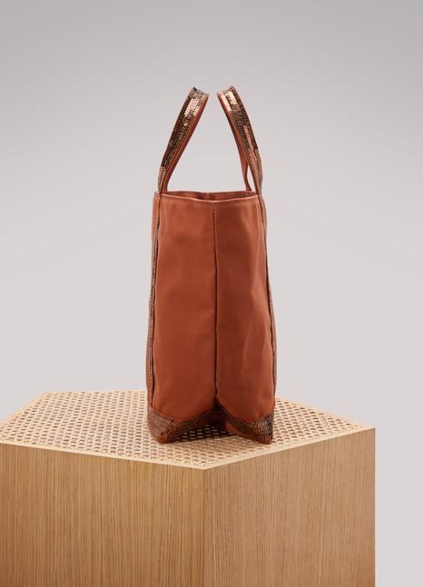 Vanessa BrunoCotton and sequins medium+ tote