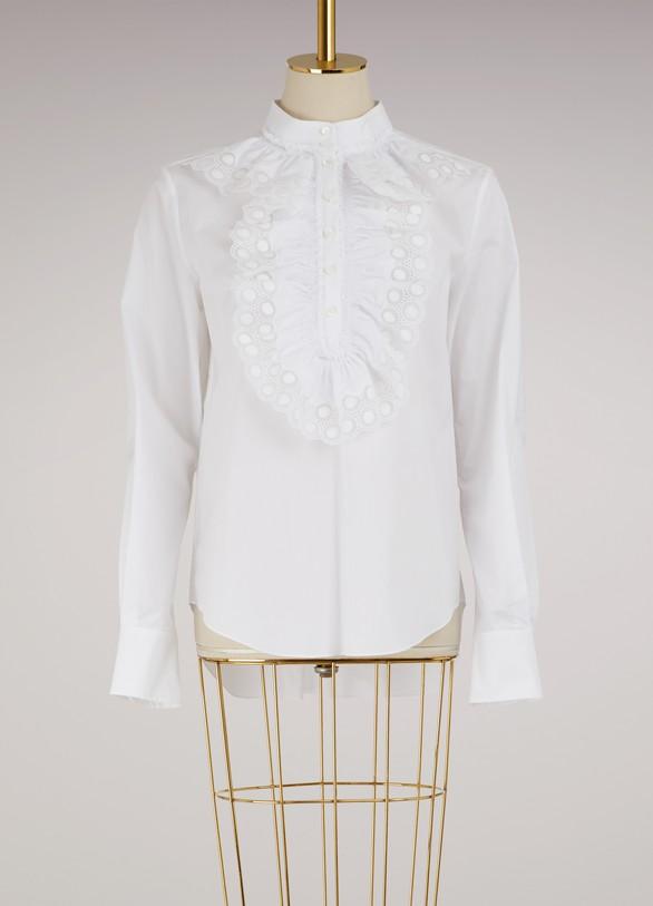 ChloéPoplin blouse