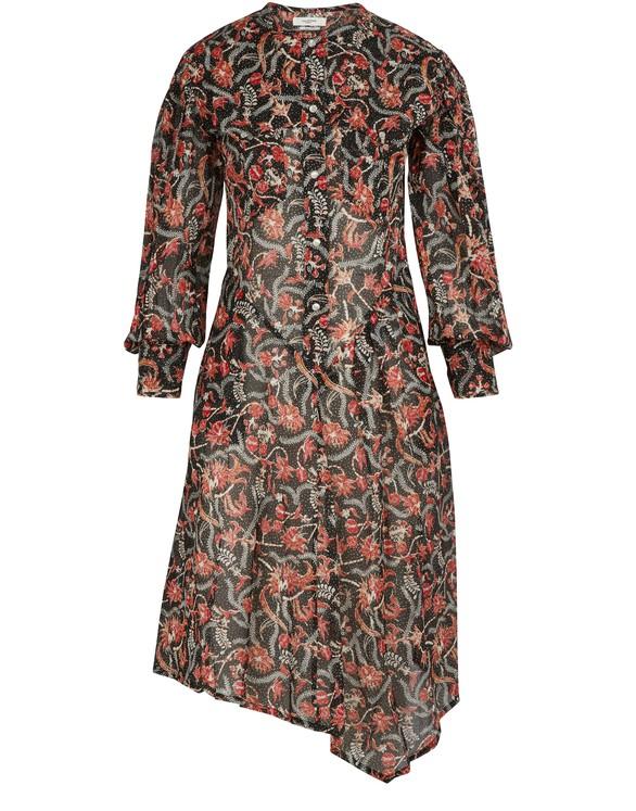 ETOILE ISABEL MARANTElka cotton dress