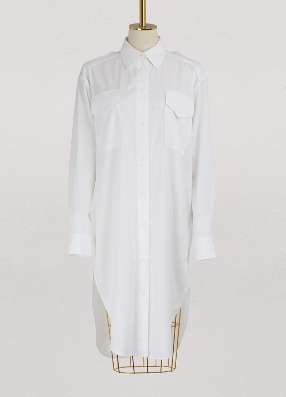 Céline Shirt dress in cotton