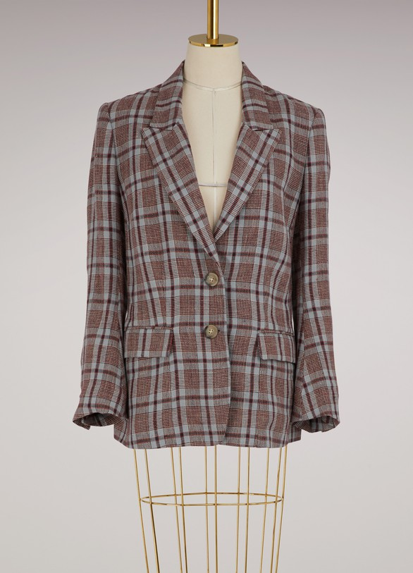Isabel Marant EtoileLinen Isaure jacket