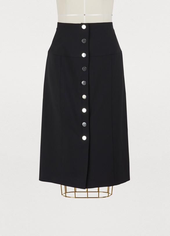 Proenza SchoulerButton-down pencil skirt
